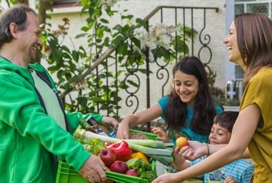 Grüne Bote … bringt Bio ins Haus