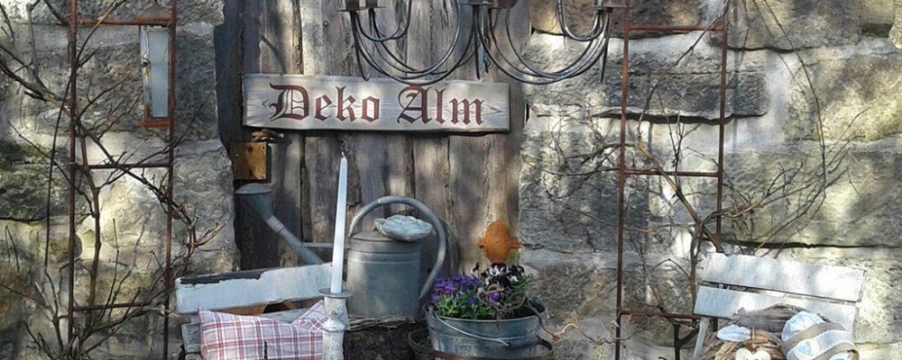 Die kleine Deko-Alm