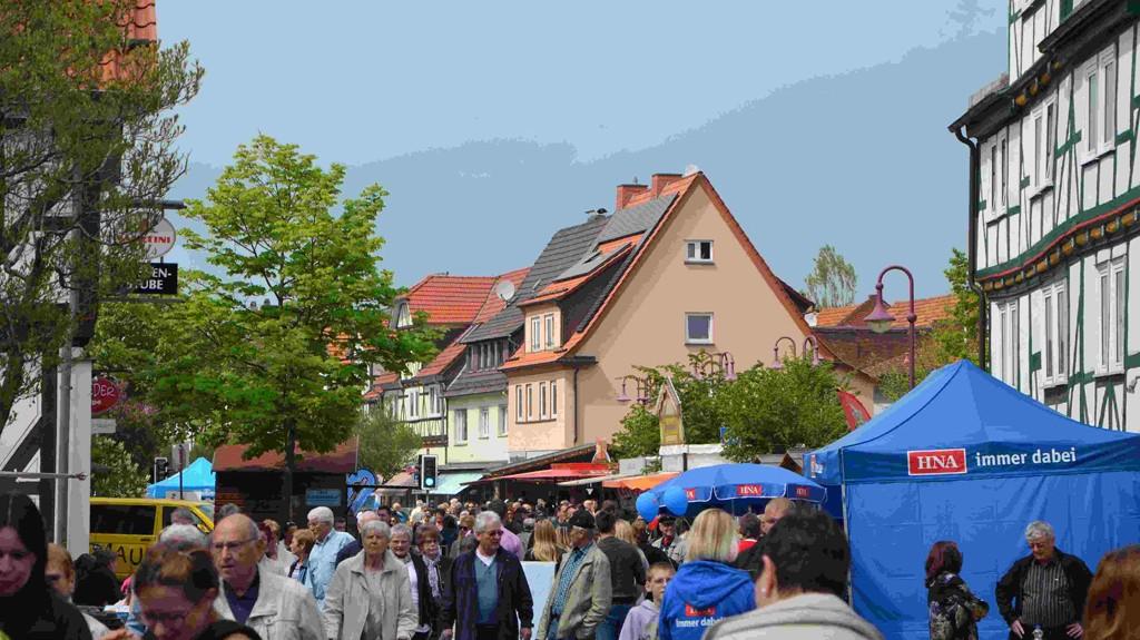 Frühlingsmarkt Leipziger Str.